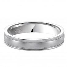 14k White Gold Ladies 4.5mm Wedding Band