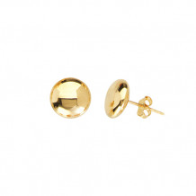 Midas 14k Yellow Gold Flat Studs