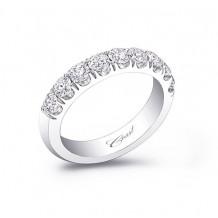 Coast 14k White Gold 1.00ct Diamond Wedding Band