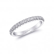 Coast 14k White Gold 0.3ct Diamond Wedding Band