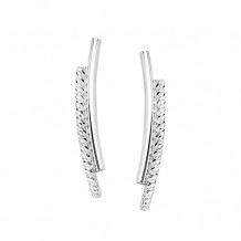 Midas Sterling Silver Fancy Earrings