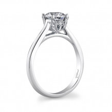 14k White Gold Coast Diamond 0.08ct Diamond Semi-Mount Engagement Ring