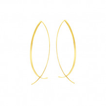 Midas 14k Yellow Gold Thread Earrings