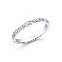 Coast 14k White Gold 0.28ct Diamond Wedding Band