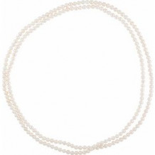 "Freshwater 8-9 mm Cultured Pearl 72"" Strand"