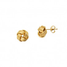 Midas 14k Yellow Gold Gold Love Knot Studs