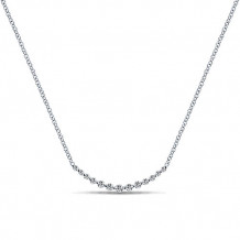 Gabriel & Co. 14k White Gold Lusso Diamond Necklace - NK4942W45JJ
