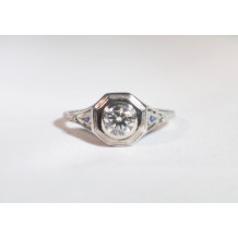 Diamond Filigree Ring