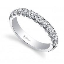 Coast 14k White Gold 0.75ct Diamond Wedding Band