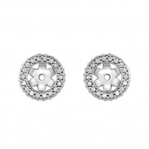 Stuller 14k White Gold Diamond Earrings Jacket