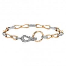 Allison Kaufman 14k Rose Gold Diamond Bracelet