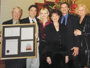 One of the proudest days of Dad's life, and ours, was when LaRog received the Family Business of the Year award in 2000.